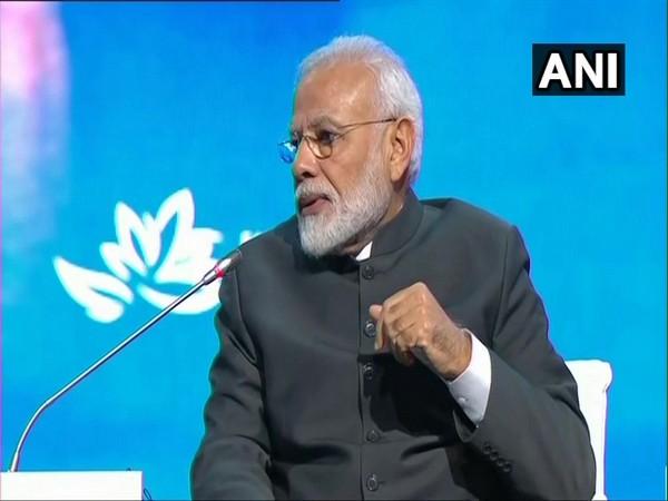 Prime Minister Narendra Modi speaking at the plenary session of the 5th Eastern Economic Forum in Vladivostok on Thursday.