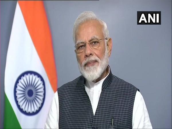 Prime Minister Narendra Modi addressing the nation in New  Delhi on August 8.