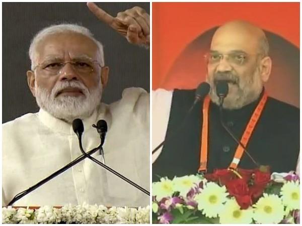 PM Narendra Modi [L] and BJP president Amit Shah [R] (Photo/ANI)