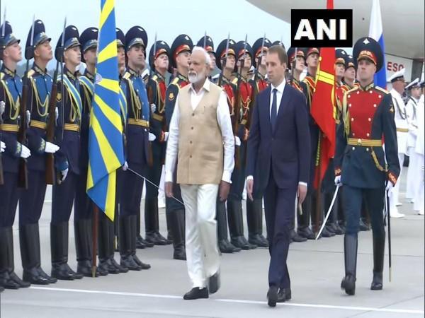 Pm Modi arrives in Russia's far eastern city of Vladivostok on Wednesday