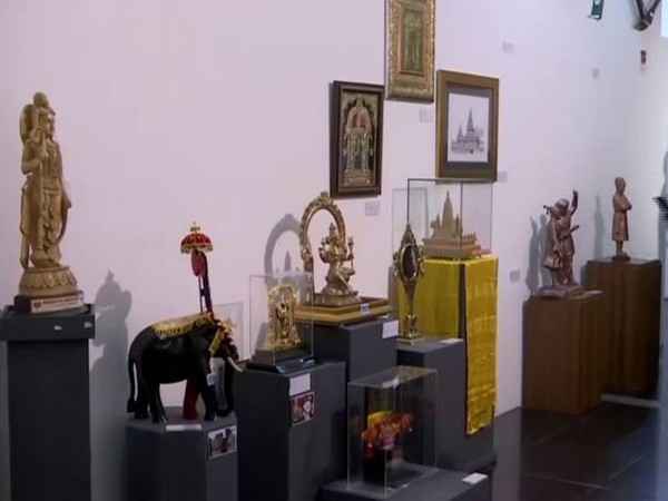 Gifts and mementos of Prime Minister Narendra Modi has been auctioned at the national gallery of modern art in Delhi on Saturday. Photo/ANI