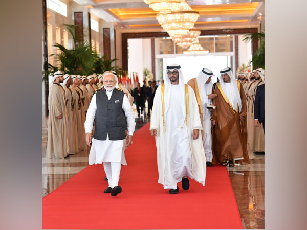 PM Modi was seen off by Crown Prince of the UAE Mohammed bin Zayed Al Nahyan on Saturday