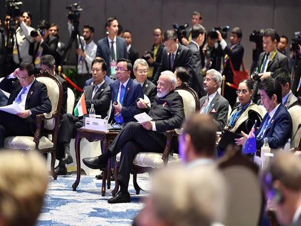 Prime Minister Narendra Modi in Bangkok.