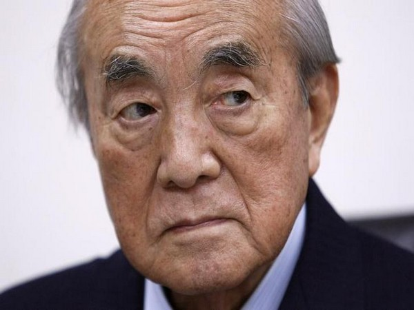 Former Japanese Prime Minister Yasuhiro Nakasone