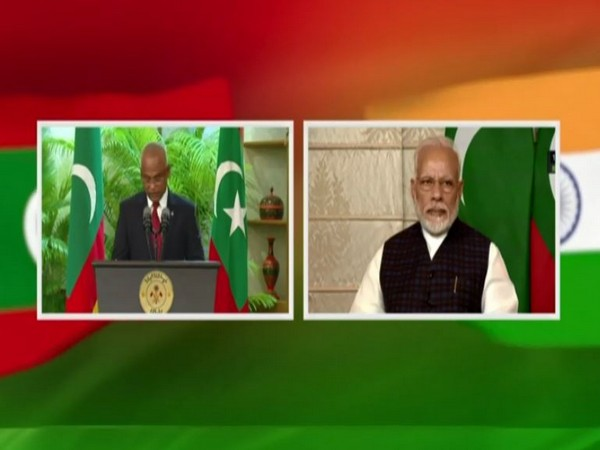 Video conference between Prime Minister Narendra Modi and Maldivian President Ibrahim Mohamed Solih
