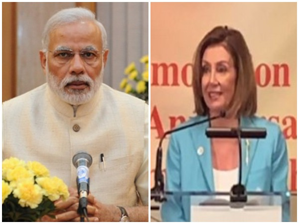 PM Narendra Modi and US House of Representatives Speaker Nancy Pelosi