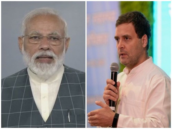 Prime Minister Narendra Nodi (left) and Congress president Rahul Gandhi (right). File Pic