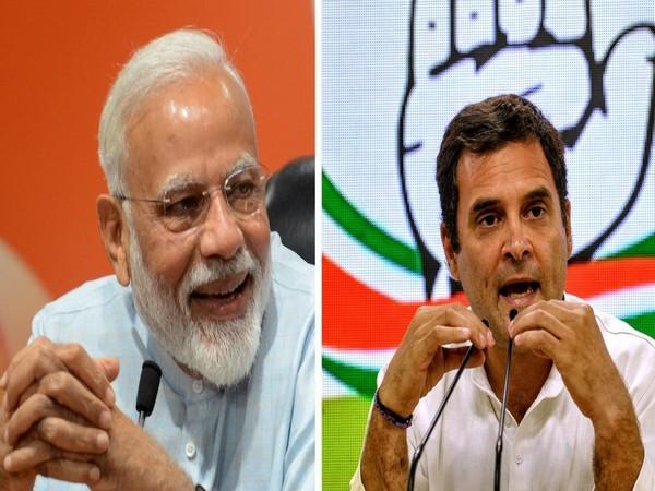 PM Modi and Rahul Gandhi (file Photo)