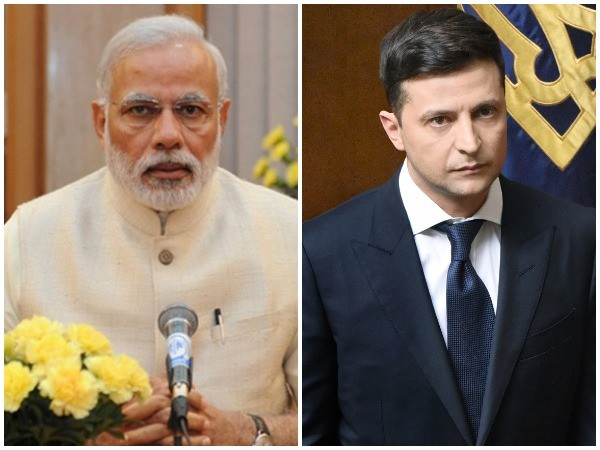 Prime Minister Narendra Modi and Ukrainian President Volodymyr Zelensky (File photo)