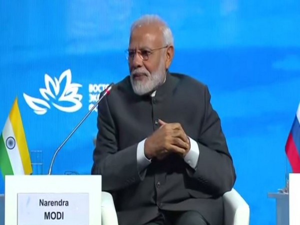 Prime Minister Narendra Modi speaking at the fifth meeting of Eastern Economic Forum on Thursday