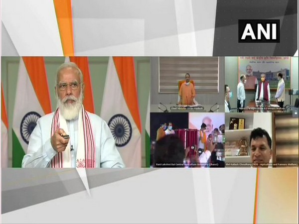 Prime Minister Narendra Modi inaugurated college and administration buildings of the Rani Lakshmi Bai Central Agricultural University on Saturday via video conferencing.