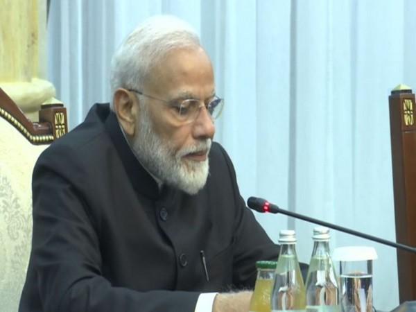 Prime Minister Narendra Modi in Bishkek on Friday