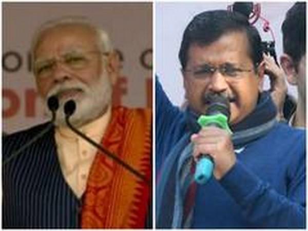 Prime Minister Narendra Modi and Arvind Kejriwal (File photos)