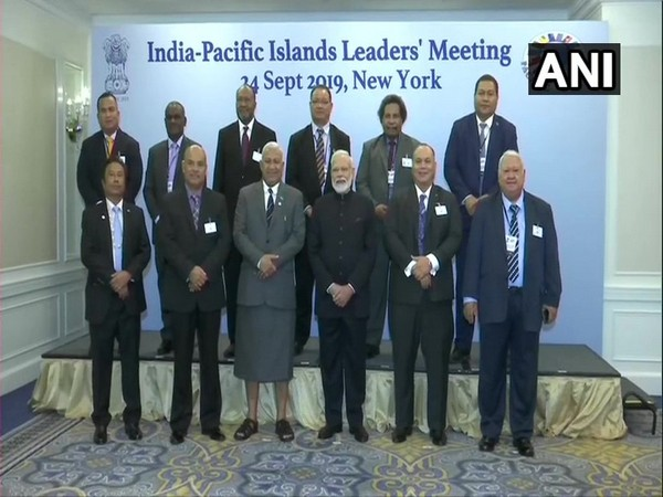 Prime Minister Narendra Modi at the India-Pacific Islands Leaders' Meeting in New York on Tuesday (Photo/ANI)