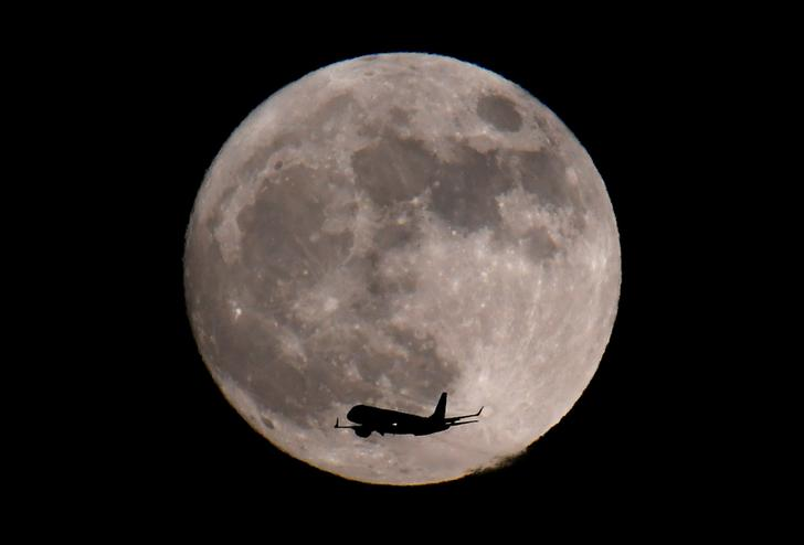 The Moon (Photo/Reuters)