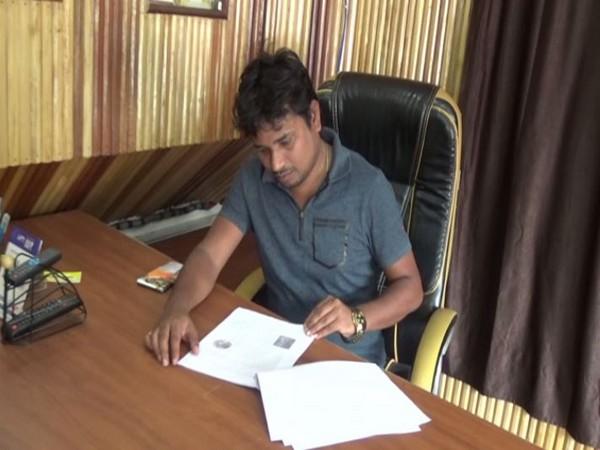 Neeraj Kumar, a Bodh Gaya resident has bought land on the moon. (Photo/ANI)