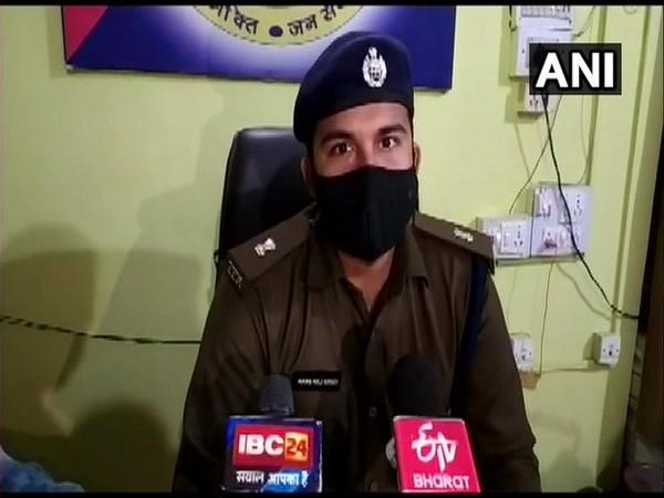 ASP Morena Hansraj Singh speaking to media.  [Photo/ANI]