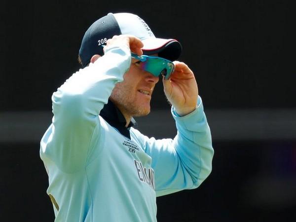 England's skipper Eoin Morgan