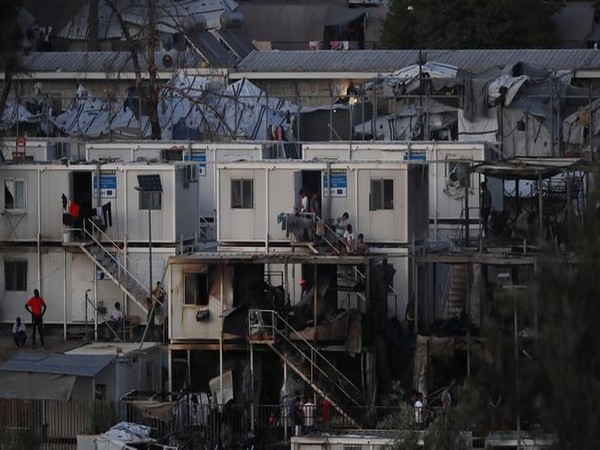 The view of Moria camp on the island of Lesbos, Greece. (Representative Image)