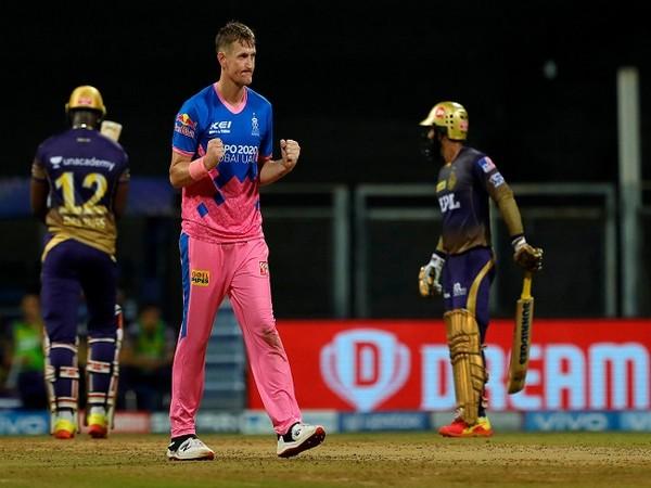Rajasthan Royals all-rounder Chris Morris (Photo/ IPL Twitter)