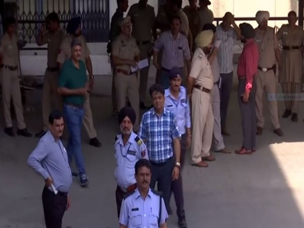 visuals outside the mortuary where body of 2-year-old in kept at hospital in Chandigarh