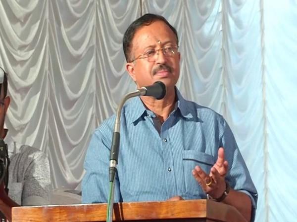 V Muraleedharan speaks at an event in Kerala [Photo/ANI]
