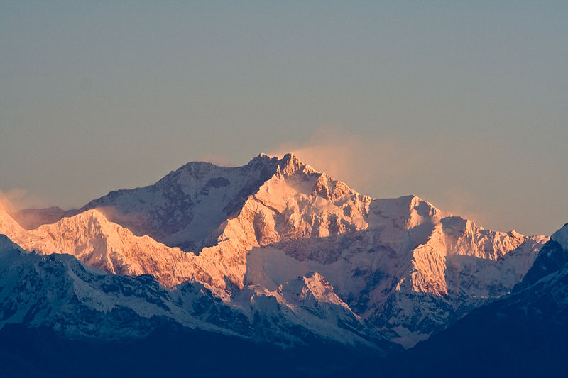 A view of Mount Kanchenjunga (representaive Image)