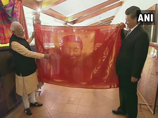 Prime Minister Narendra Modi with Chinese President Xi Jinping during the Second Informal Summit in Tamil Nadu (Photo/ANI)