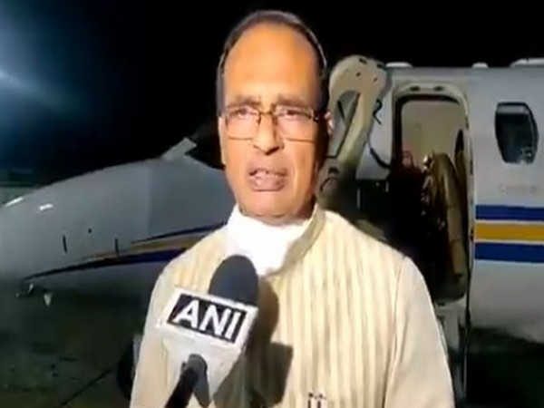 Madhya Pradesh Chief Minister Shivraj Singh Chouhan speaking to ANI on Thursday.