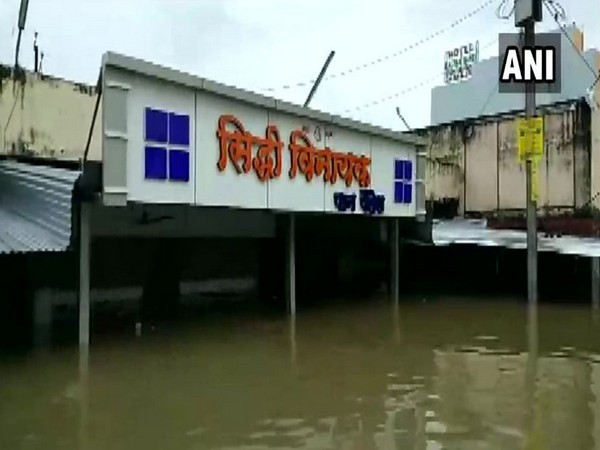 Normal life has been affected in Neemuch after continuous rainfall in the region on Sunday. Photo/ANI
