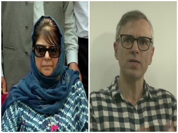 PDP president Mehbooba Mufti / NC deputy chief Omar Abdullah (File photo)