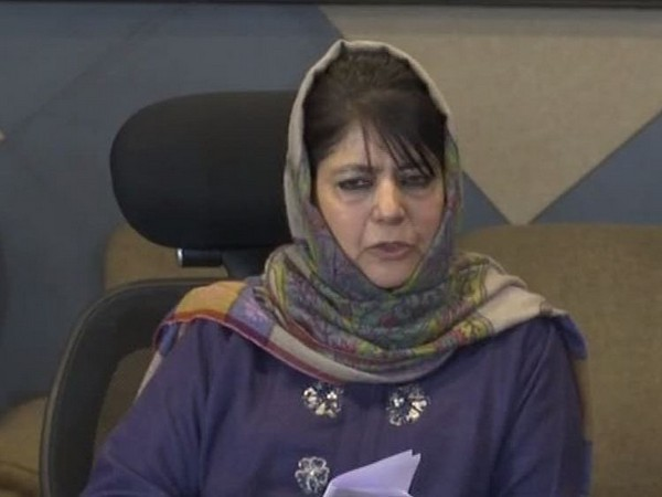 File Pic PDP chief Mehbooba Mufti