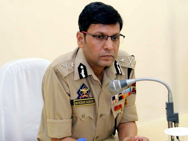 IGP Jammu Mukesh Singh held security review meeting in Katra on Thursday