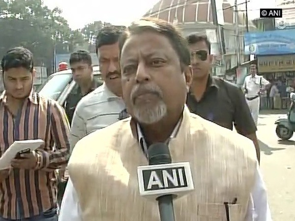 BJP leader Mukul Roy (File pic)