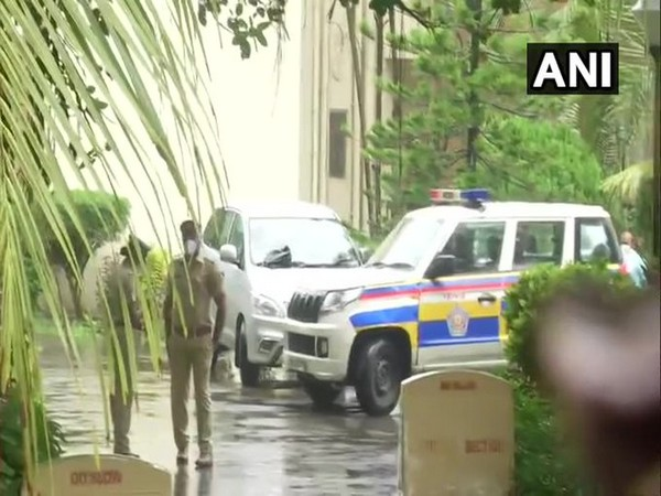 Visual from outside DRDO guest house, Mumbai