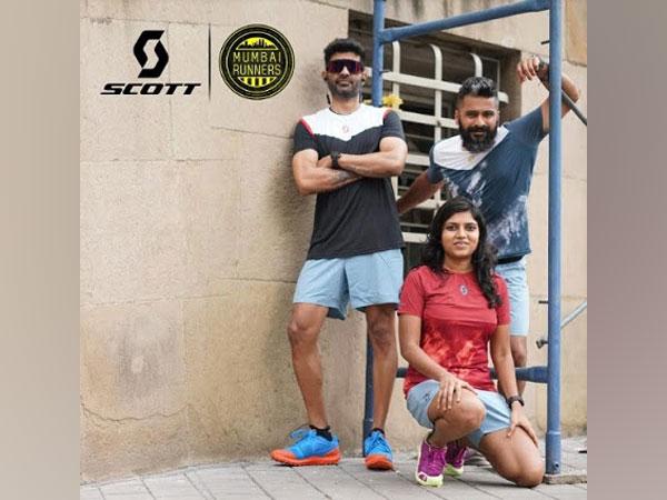Mumbai Runner's team in SCOTT Running products