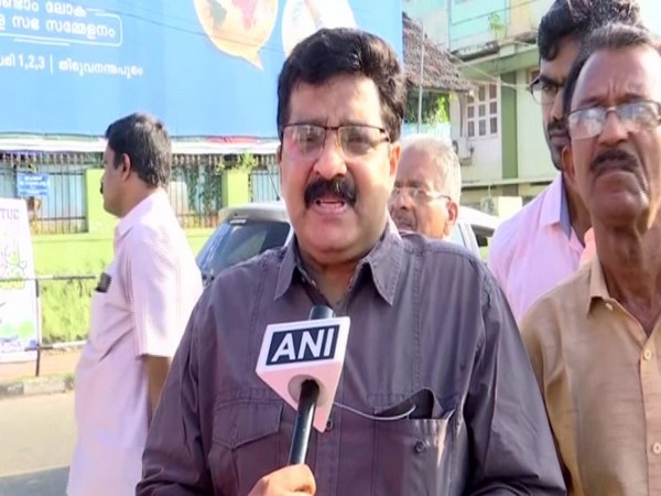 IUML leader and former Social Justice Minister MK Muneer speaks to ANI in Kerala on Saturday [Photo/ANI]