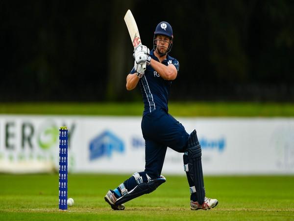 George Munsey   Image Courtesy: Cricket Scotland Twitter
