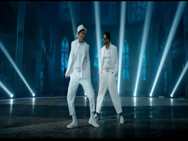 A still from the official video of 'Muqabla' song (Image courtesy: YouTube)