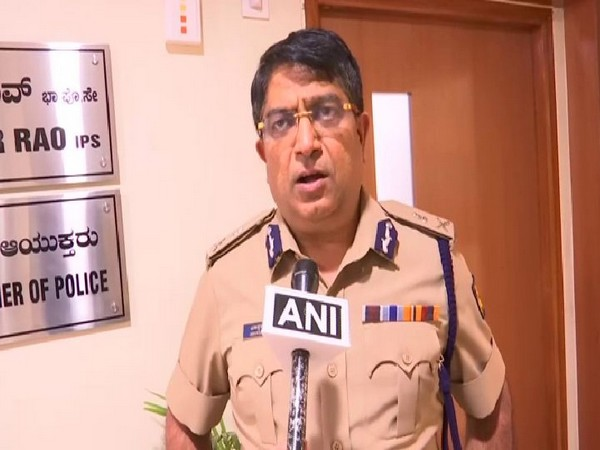 Bhaskar Rao, Police Commissioner of Bangalore city speaking to ANI on Thursday. Photo/ANI
