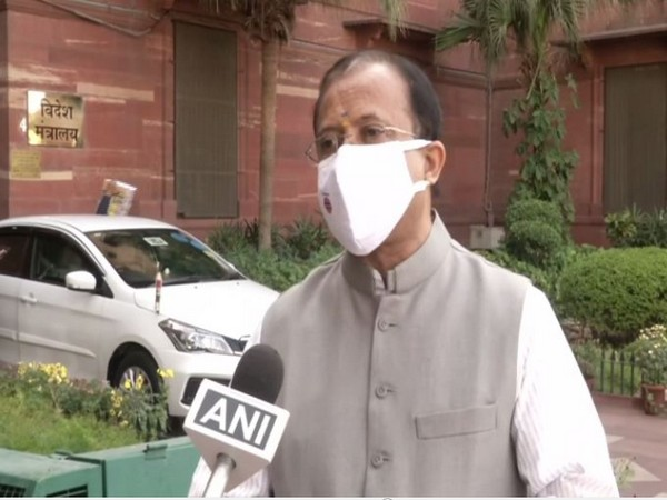 Union Minister V Muraleedharan speaking to ANI in New Delhi on Monday. (Photo/ANI)