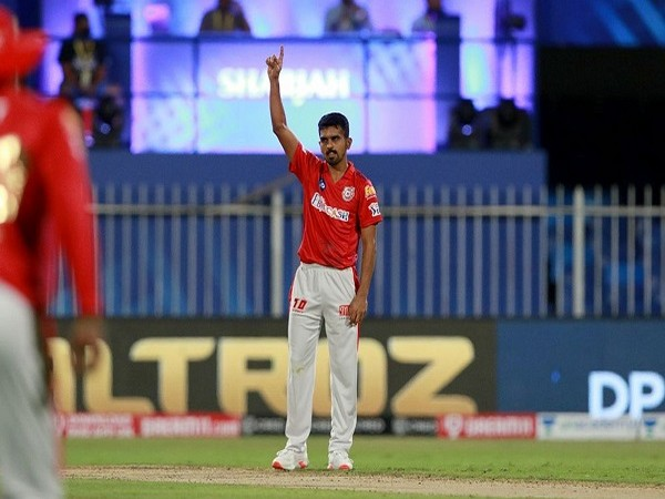 KXIP bowler Murugan Ashwin (Image: BCCI/IPL)