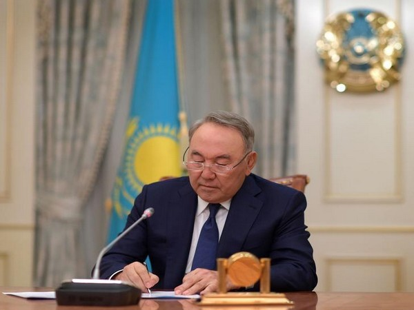 Kazakh President Nursultan Nazarbayev stepped down from his post on Tuesday.
