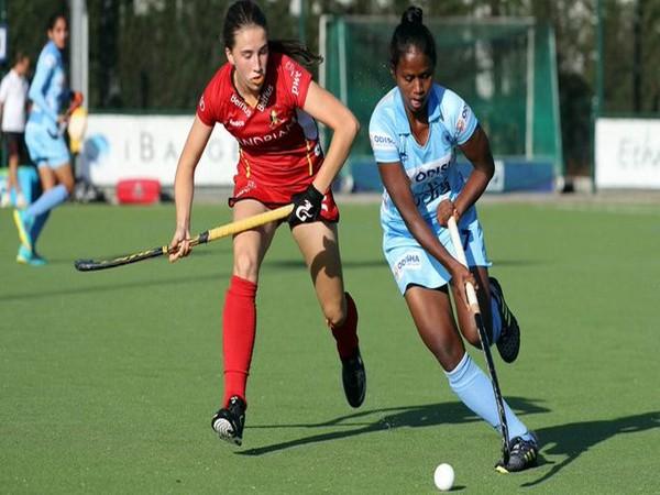 Mariana Kujur, Indian junior women's hockey team midfielder (Photo/ Hockey India Twitter)