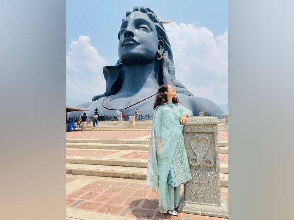 Kangana Ranaut at Adishakti Ashram (Image Source: Twitter)