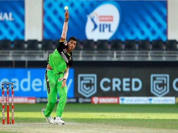 RCB fast bowler Navdeep Saini (Image: BCCI/IPL)