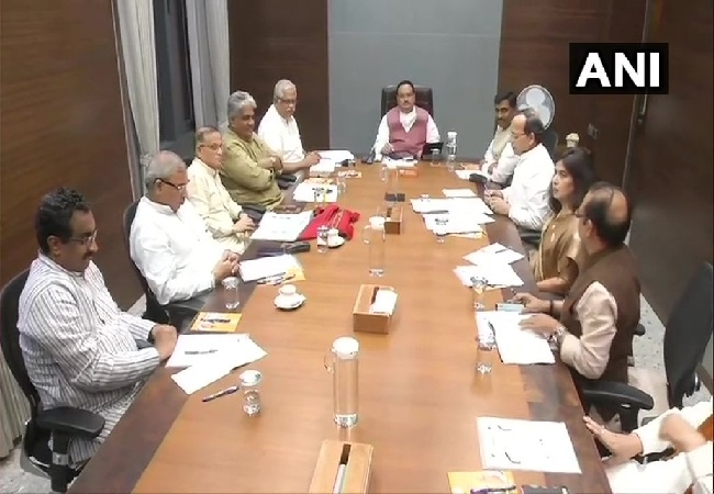 BJP Working President JP Nadda held a meeting of party General Secretaries in New Delhi on Tuesday.
