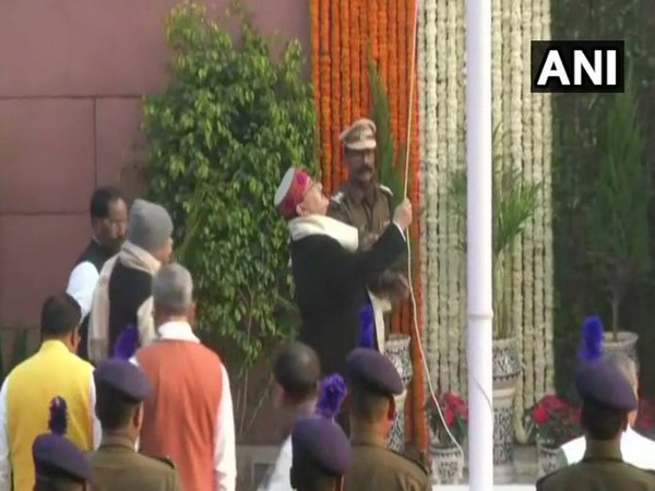 BJP President hoists national flag at party headquarters on Republic Day