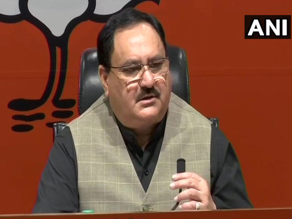 BJP National Working President JP Nadda (File Photo/ANI)