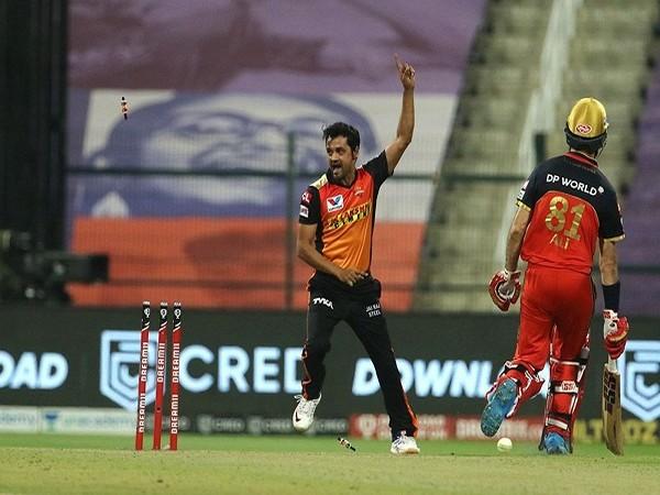SRH spinner Shahbaz Nadeem (Image: BCCI/IPL)